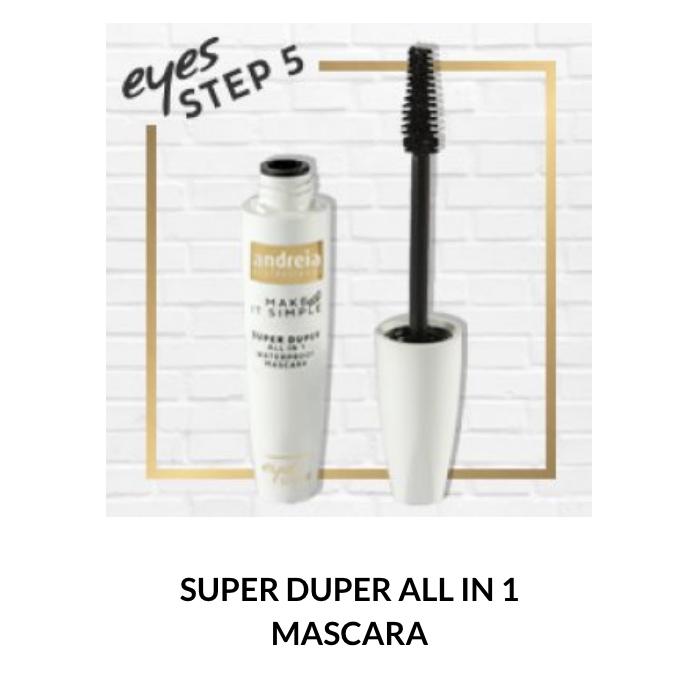 Andreia Eyes 5 - SUPER DUPER - All in 1 Mascara