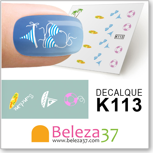Decalques das Férias (K113)