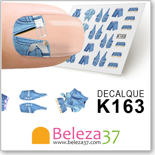 Decalques dos Jeans (K163)