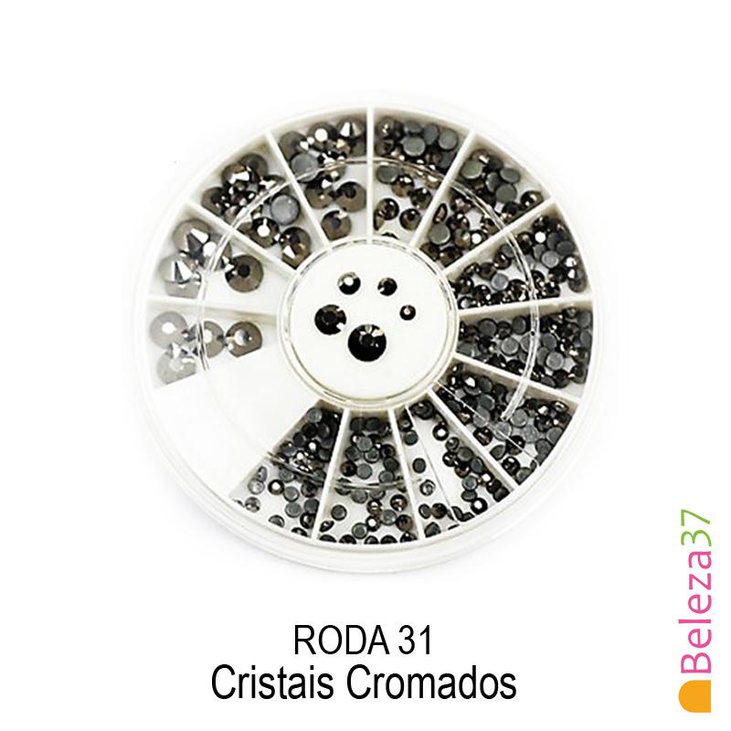 RODA 31 – Cristais Cromados
