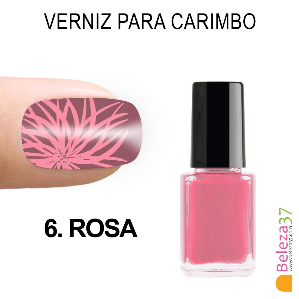 Verniz para Carimbo - 6. ROSA