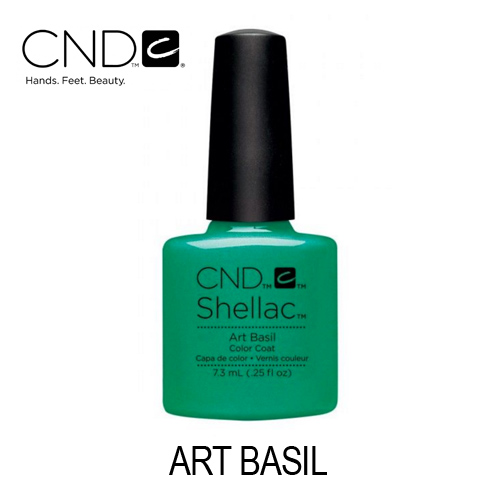 CND Shellac – Art Basil