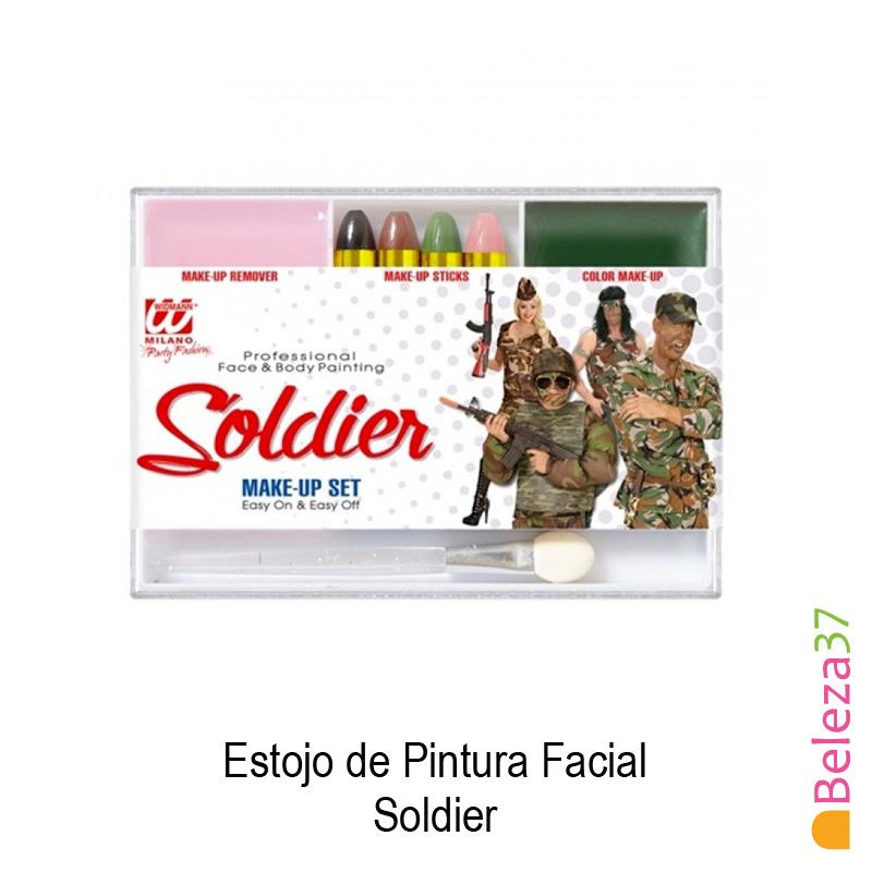 Estojo de Pintura Facial - 02 - Soldier (Soldado)
