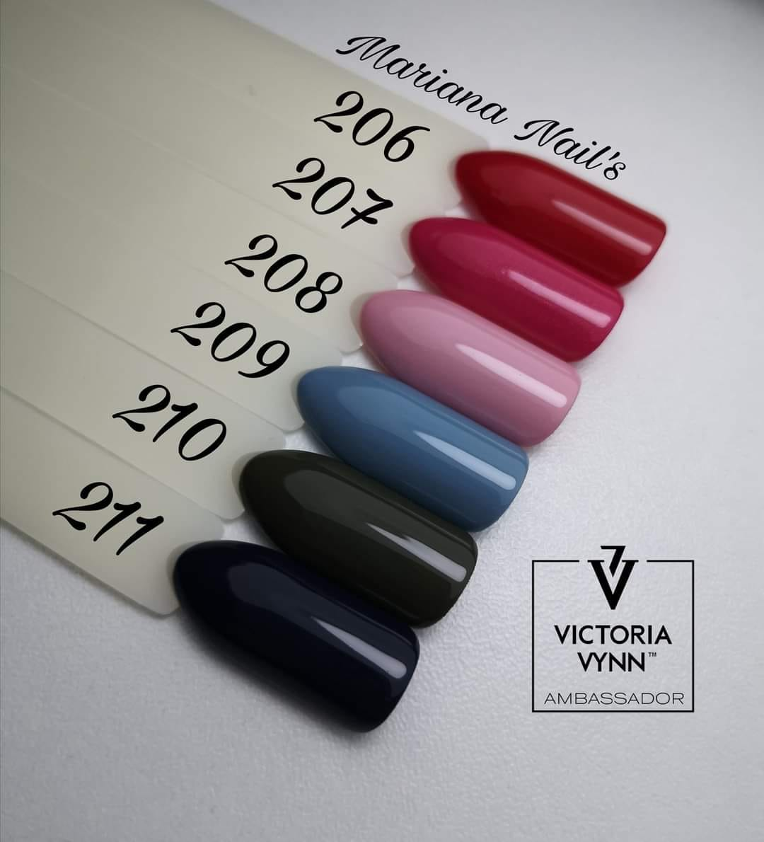 Victoria Vynn City Breeze Pure Collection (Cores 206 ao 211) + Oferta Gel Mousse 50ml