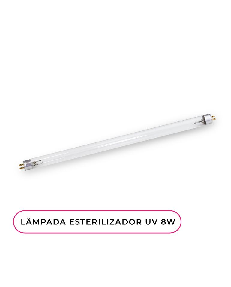 Lâmpada 8W subtituível para esterilizador UV Inocos