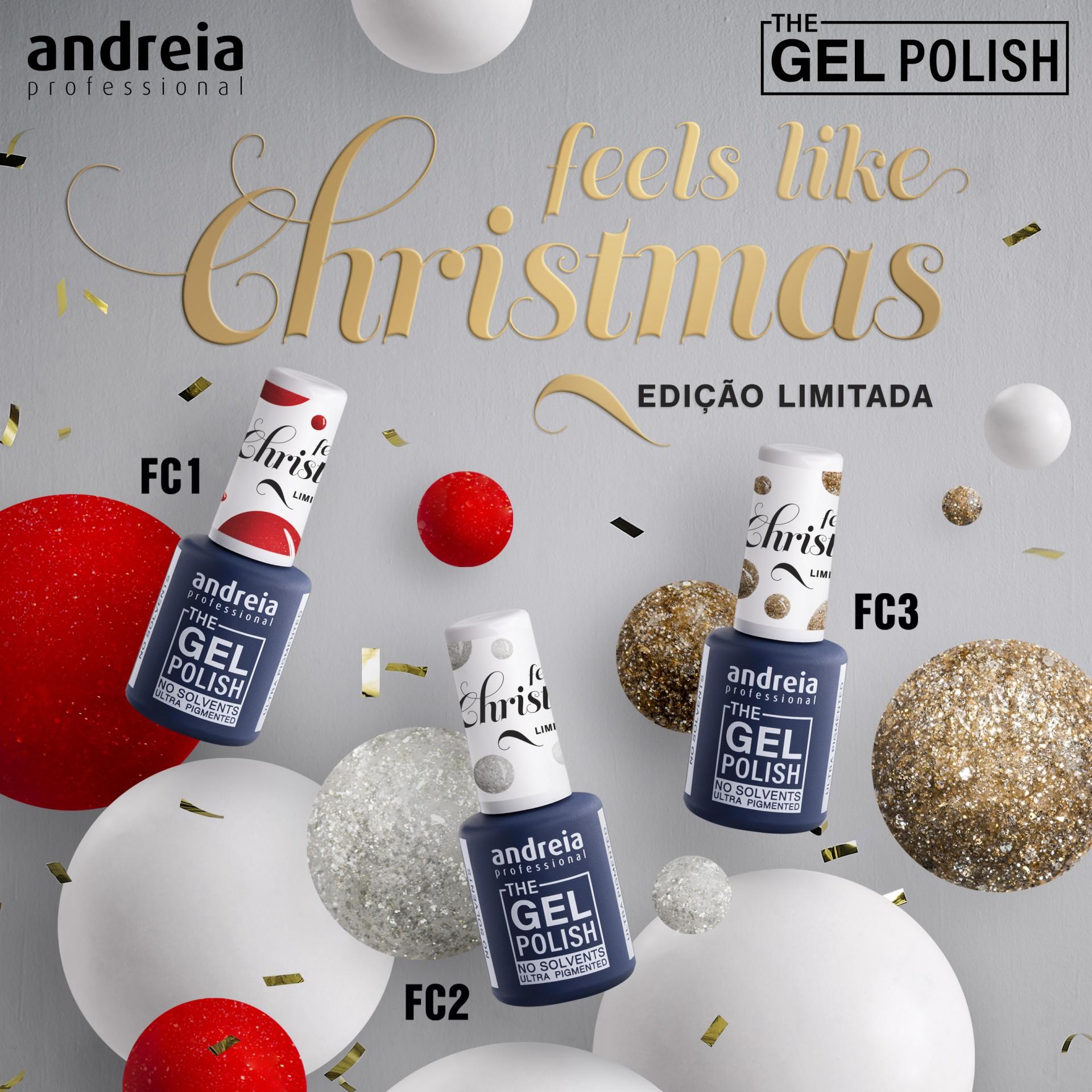 The Gel Polish Andreia - Feels Like Christmas Collection (Edição Limitada)