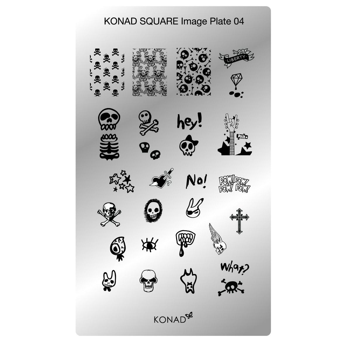 Chapa Retangular KONAD 04