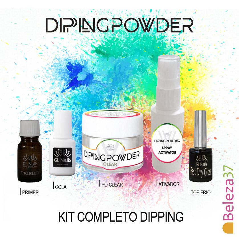 KIT Completo Dipping Powder da GL Nails