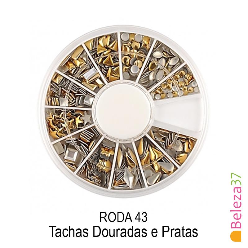 RODA 43 - Tachas Douradas e Pratas