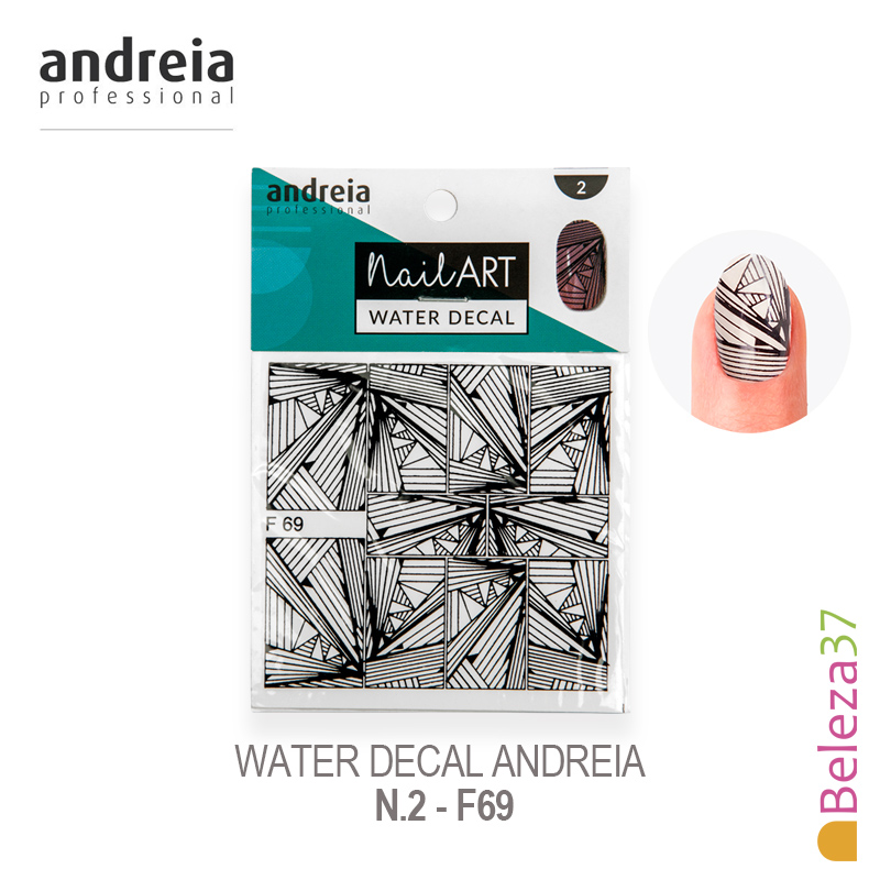 Water Decal Andreia - n.2 - F69