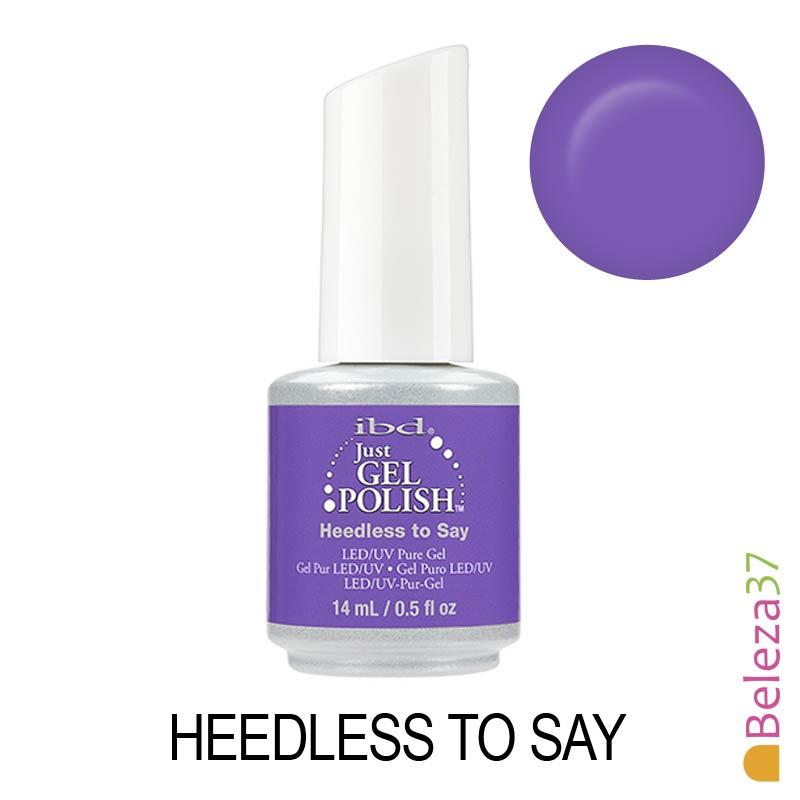 IBD 57014 - Heedless to Say