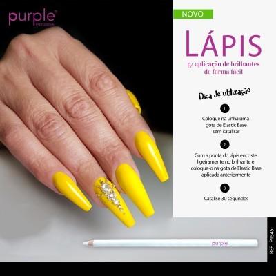 Lápis Purple para Aplicação de Brilhantes