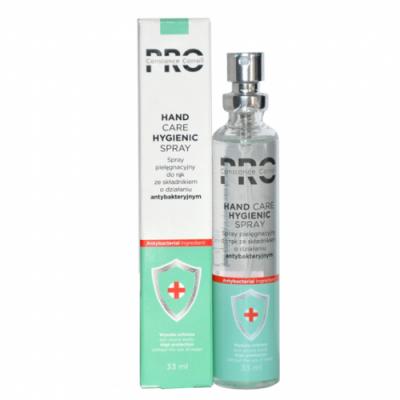 Hand Care Hygienic Spray 70% alcohol 33ml CC