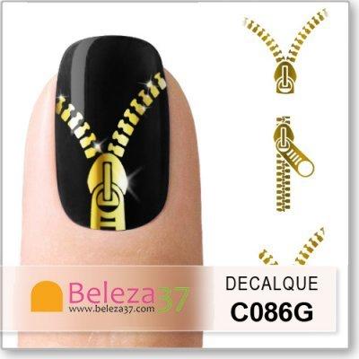 Decalques Fecho Eclair (C086G)