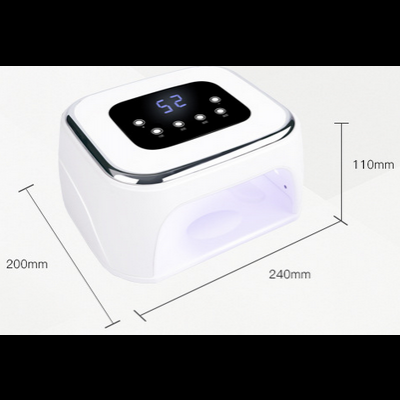 Catalisador UV / Led GL Nails 99W com Bluetooth e Música