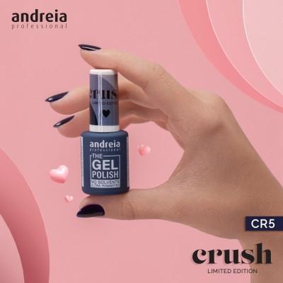 The Gel Polish Andreia CR5: Noite de Paixão - Azul Noite Arroxeado