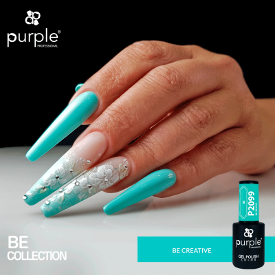 Verniz Gel PURPLE P2099 – Be Creative
