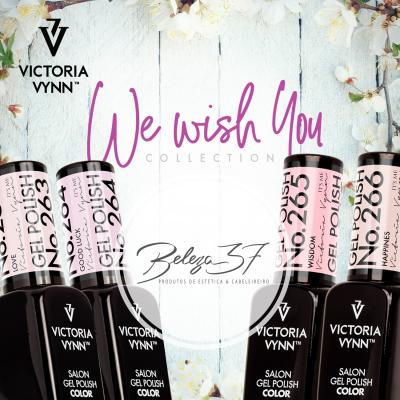 Verniz Gel Victoria Vynn - Coleção We Wish 4 Cores: 263+264+265+266 (3 + 1 OFERTA)
