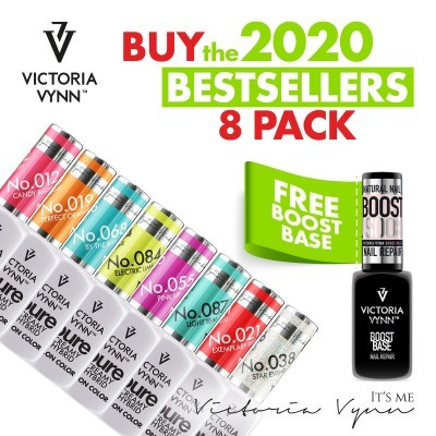 Kit Victoria Vynn 8 Bestsellers 2020 + OFERTA Boost Base