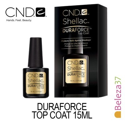 CND SHELLAC Duraforce Top Coat 15ml