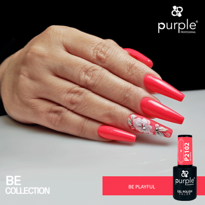 Verniz Gel PURPLE P2102 – Be Playful