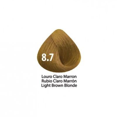 Tinta Violet Keratin Trendy 8.7 - 100ml - LOURO CLARO MARRON