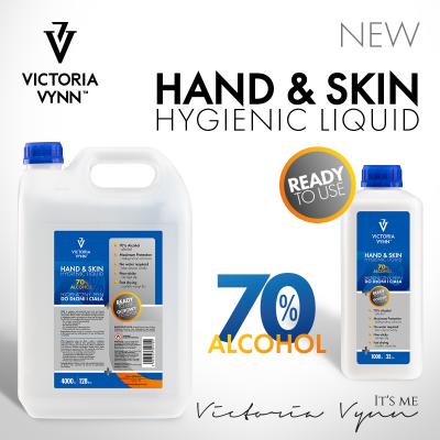 Líquido Higienizador Hand & Skin Victoria Vynn