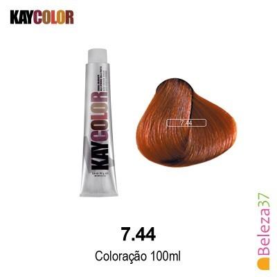 KayColor Coloração 100ml - Cor 7.44
