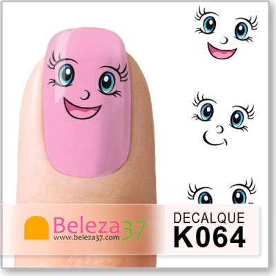 Decalques das Caras Divertidas (K064)