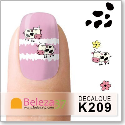 Decalques Milk Cow (K209)