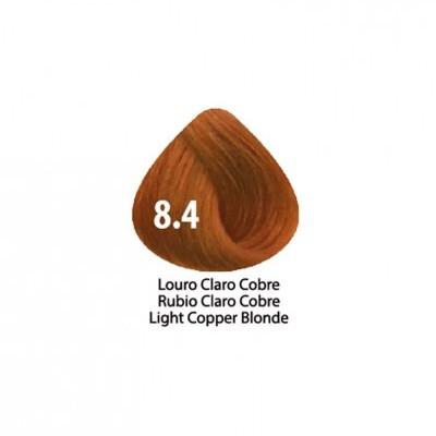 Tinta Violet Keratin Trendy 8.4 - 100ml - LOURO CLARO COBRE