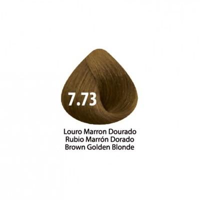 Tinta Violet Keratin Trendy 7.73 - 100ml - LOURO MARRON DOURADO