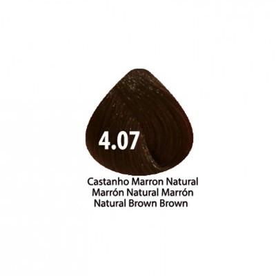 Tinta Violet Keratin Trendy 4.07 - 100ml - CASTANHO MARRON NATURAL