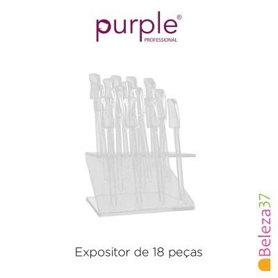 Expositor de 18 Tips Purple