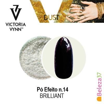 Pó Efeito Victoria Vynn n.14 Brilliant (Brilhante)