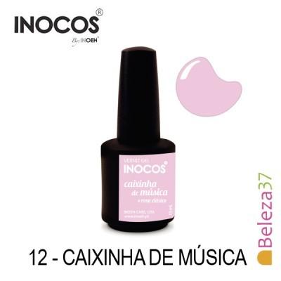 Verniz Gel Inocos 12 — Caixinha de Música (Rosinha)