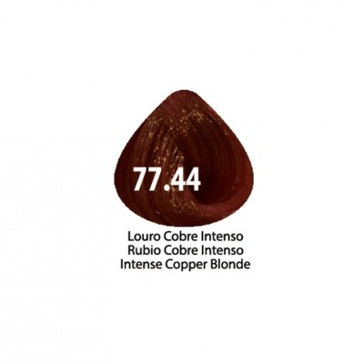 Tinta Violet Keratin Trendy 77.44 - 100ml - LOURO COBRE ULTRA INTENSO