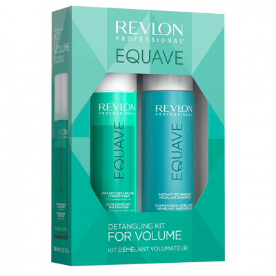 Revlon Equave Detanglig Kit For Volume - Champô + Condicionador