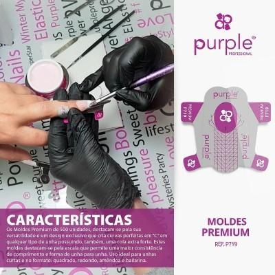 500 Moldes Premium Purple