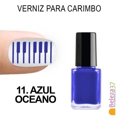 Verniz para Carimbo - 11. AZUL OCEANO