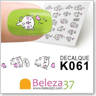 Decalques do Pequeno Gatinho (K061)
