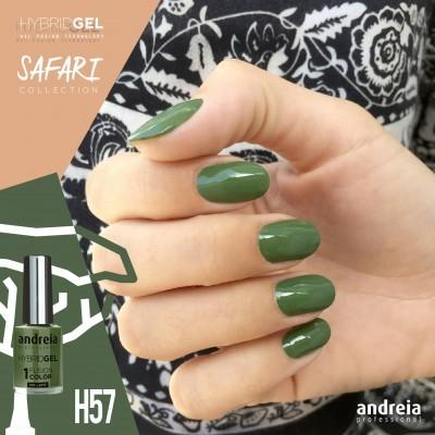 Hybrid Gel Andreia – Fusion Color H57 (Verde Caqui)