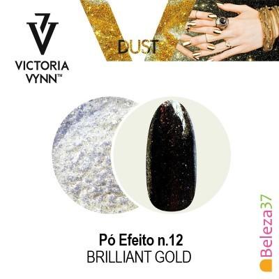 Pó Efeito Victoria Vynn n.12 Brilliant Gold (Ouro Brilhante)