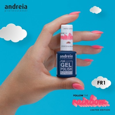 The Gel Polish Andreia FR1 - Coral Néon