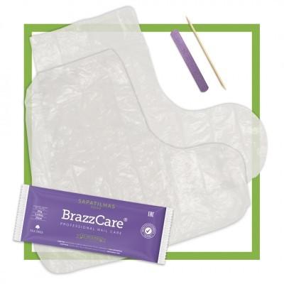 Par de Sapatilhas Hidratantes BrazzCare / BalbCare