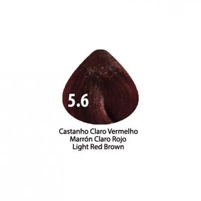 Tinta Violet Keratin Trendy 5.6 - 100ml - CASTANHO CLARO VERMELHO