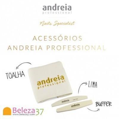 Kit Acessórios Andreia: Toalha, Lima e Buffer
