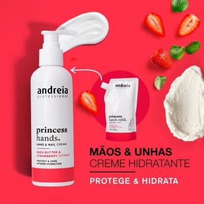 Princess Hands Andreia - Creme de mãos e unhas