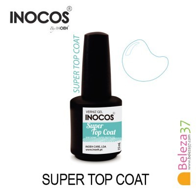 Verniz Gel Inocos — Super Top Coat Sem Goma 15ml