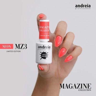 Verniz Gel Andreia MZ3 – Coral Néon (Verão)